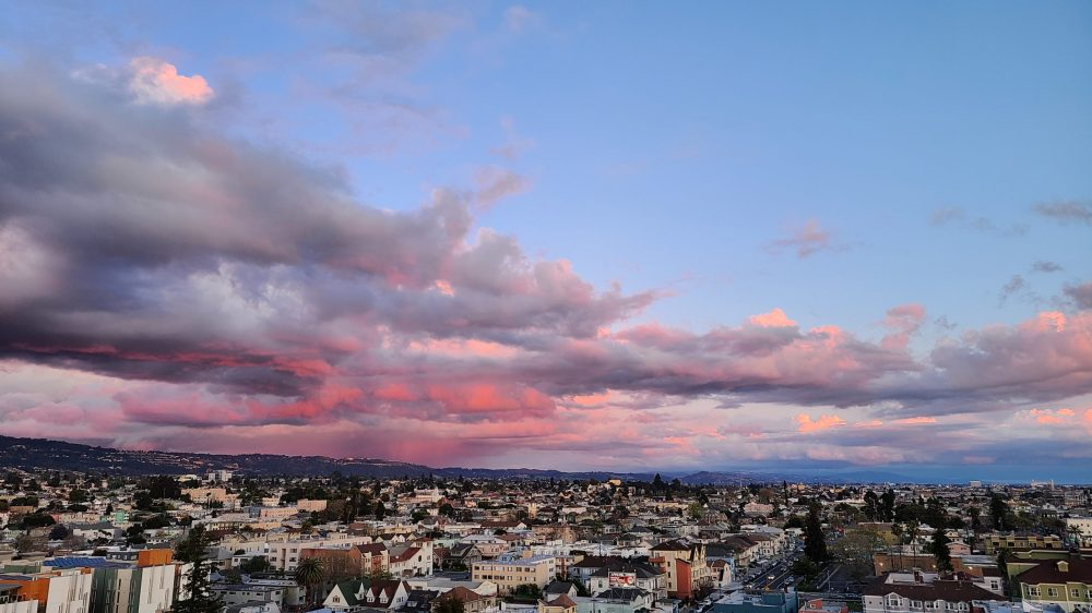 East Oakland Sunset